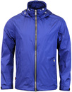 Everyorder LUKE 1977 Retro Mod Hooded Jacket BLUE