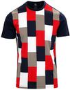 Against the Wind LUKE Men's Retro Block Colour Tee