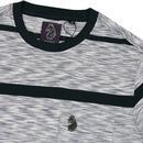 Spaced Cadet LUKE 70s Space Dye Stripe T-Shirt PB