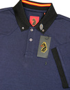 Trebbles LUKE 1977 Mod 60s Tonic Button Down Polo
