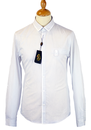 LUKE 1977 RETRO MOD DRESS SHIRT SMART STRIPED REV