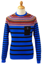 Makepiece LUKE 1977 Retro Fair Isle Breton Jumper