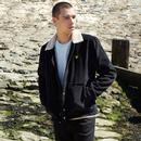 LYLE & SCOTT Mod Jumbo Cord Shearling Jacket BLACK