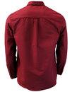 LYLE & SCOTT 60s Mod Button Down Oxford Shirt (C)
