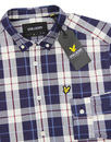 LYLE & SCOTT Retro Button Down Poplin Check Shirt