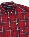 LYLE & SCOTT Mod Button Down Poplin Check Shirt