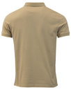 LYLE & SCOTT Classic Mod Pique Polo Shirt (Stone)