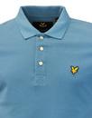 LYLE & SCOTT Men's Classic Mod Pique Polo Shirt LT