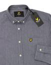 LYLE & SCOTT Retro Twill Mouline 60s Oxford Shirt