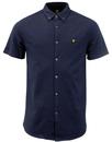 LYLE & SCOTT Retro Mod Pique Jersey Shirt