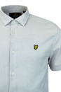 LYLE & SCOTT Retro 60s Textured Stripe S/S Shirt