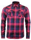 Mav Taylor LUKE 1977 Flannel Check Pocket Shirt