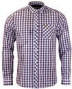 LYLE & SCOTT Mod Tartan Check Button Down Shirt