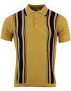 Aftermath MADCAP ENGLAND 60s Mod Stripe Knit Polo