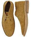 Daltrey MADCAP ENGLAND 60s Mod Suede Desert Boots
