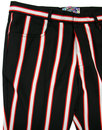 Hapshash 2 MADCAP ENGLAND 60s Mod Bootcut Trousers