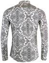 Capo MADCAP ENGLAND 60s Paisley Spear Collar Shirt