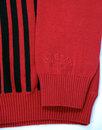 Everly MADCAP ENGLAND 60s Mod Stripe Polo Cardigan