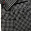MADCAP ENGLAND Cord Collar Gingham Check Jacket