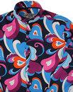 Indra Paisley Surf MADCAP ENGLAND Grandad Shirt