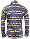 Newport Waves MADCAP ENGLAND Retro 70s Mod Shirt
