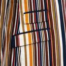 Offbeat Cord MADCAP ENGLAND Stripe Boating Blazer