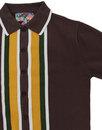 Screamin Jay MADCAP ENGLAND 1960s Mod Stripe Polo