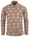 Tribal Trip MADCAP ENGLAND Mod Abstract Art Shirt