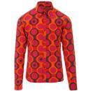 Trip Circles MADCAP ENGLAND Mod Button Down Shirt