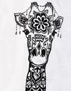 Mandala Giraffe MADCAP ENGLAND Psychedelic Tee