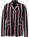 Madcap England Hapshash stripe boating blazer