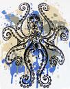 Octopus Garden MADCAP ENGLAND Psychedelic Tee