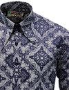 Capo MADCAP ENGLAND Mod Paisley Spear Collar Shirt