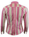 Sunflower MADCAP ENGLAND Retro Candy Stripe Shirt