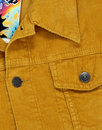 Woburn MADCAP ENGLAND Mod Cord Western Jacket GOLD