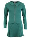 Mayfair Cross MADCAP ENGLAND 60s Ring Zip Dress