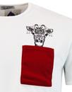 Giraffe Pocket MADCAP ENGLAND Retro Pocket T-shirt