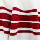 I Got Stripes MADEMOISELLE YEYE Knitted Top CREAM
