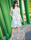 Mademoiselle Yeye Retro 60s Shirt Summer Dress