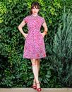 Tatti MADEMOISELLE YEYE Retro Floral Shirt Dress