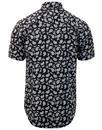 Alpha MERC Mod All Over Paisley Print S/S Shirt
