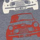 Kew MERC Retro Mod Mini Graphic Tee (Blue Marl)