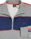 Freed MERC 70's Chest Panel Zip Through Track Top