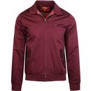 MERC HARRINGTON JACKET IN WINE RETRO MOD JACKETS