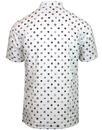 Patrol MERC 60s Mod Badge Print S/S Oxford Shirt
