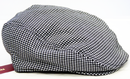 MERC RETRO MOD DOGTOOTH FLAT CAP RETRO CAPS HATS