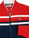 Naso FILA VINTAGE Chest Stripe Bomber Track Top