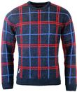 NATIVE YOUTH RETRO MOD WINDOW PANE CHECK JUMPER