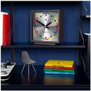 AMP NEWGATE Retro 60s Space Age Mantel Clock BLACK