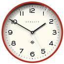 Newgate Clocks Echo Number Three Wall Clock red